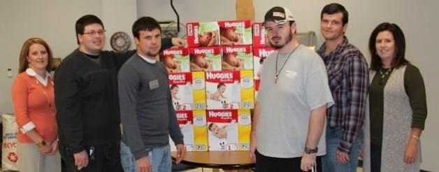 PBL, SGA Donate to Arkansas Diaper Depot